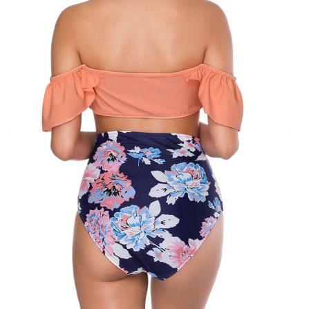 Flounced Sleeves Bikini