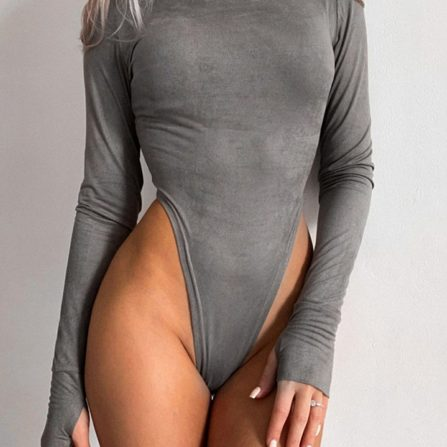 Full Sleeve High Cut Bodysuit