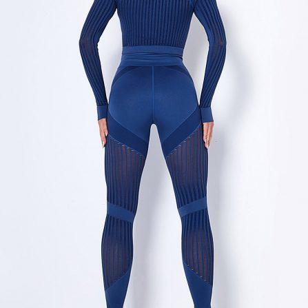 High Waist Knit Yoga Suit