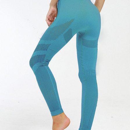 High Waist Knitted Yoga Leggings