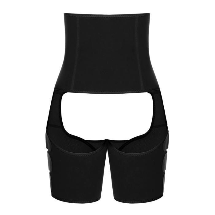 High Waist Neoprene Thigh Trimmer and Butt Lifter 11