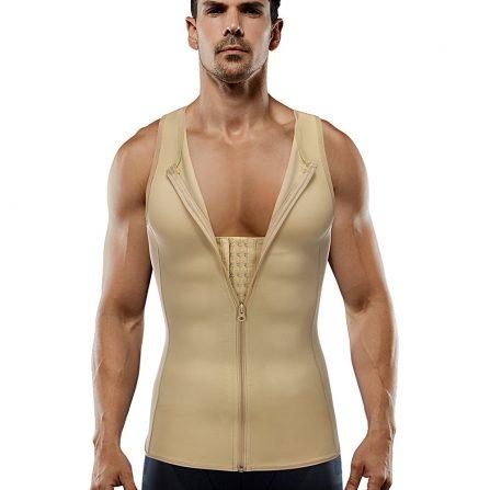 Hooks Zipper Vest Shaper