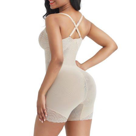 Lace Trim Full Body Shaper