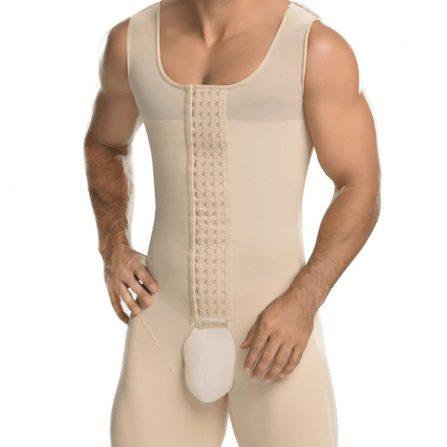 Open Crotch Men Body Shaper