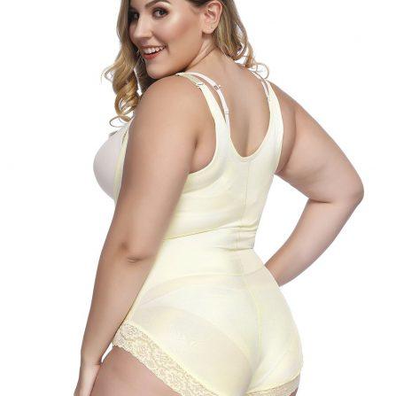 Underbust Nude Bodysuit
